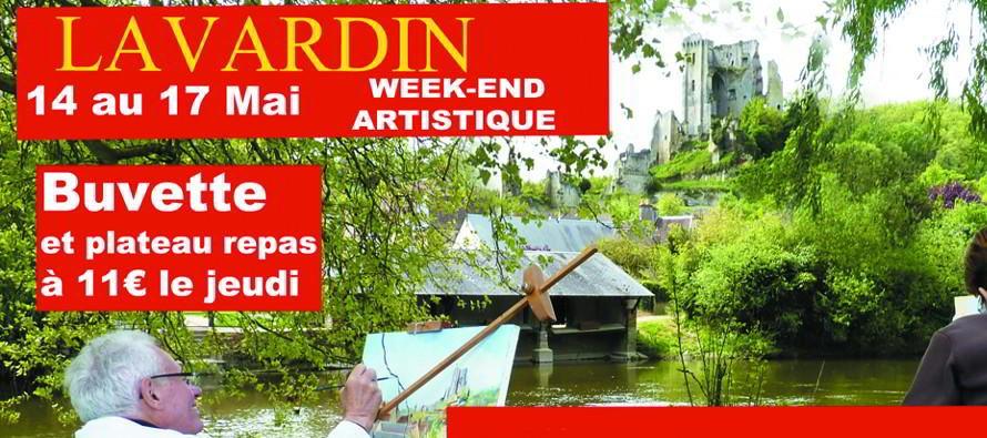 Lavardin, capitale des arts le week-end de l'Ascension