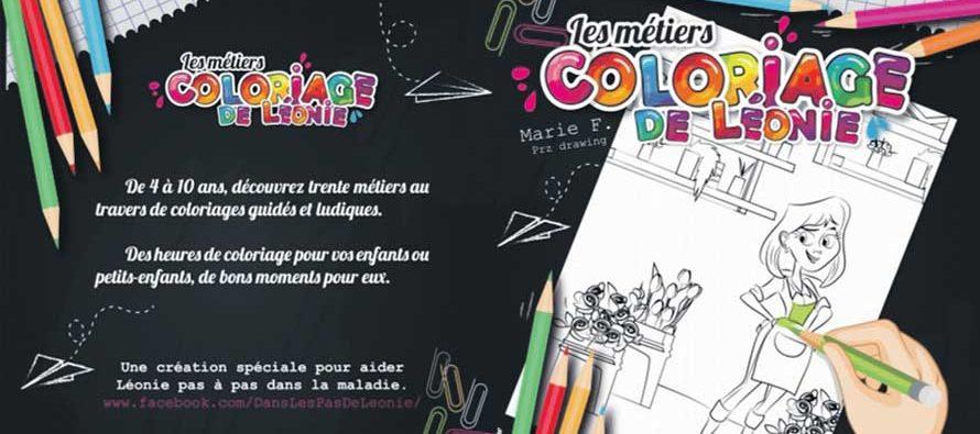 Un livre de coloriage pour Léonie