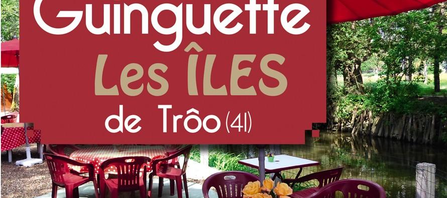 5 bougies à souffler pour la guinguette « Les Îles » à Trôo !