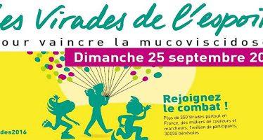 Les 23, 24 et 25 septembre Les Virades en Vendômois