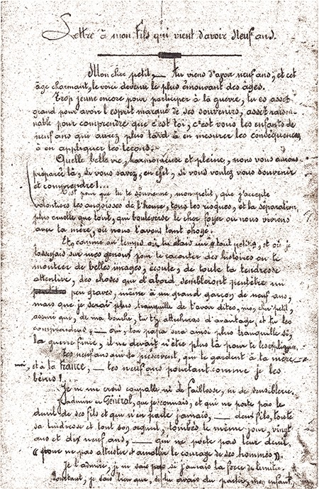 Populaire 400 lettres de la Première Guerre mondiale aux Archives de Blois  DW24