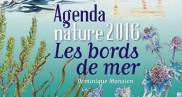 «Les bords de mer» Agenda Nature 2016 de Dominique Mansion