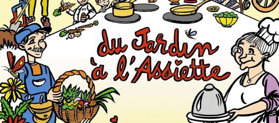 Du jardin à l'assiette, un livret qui illustre de belles rencontres