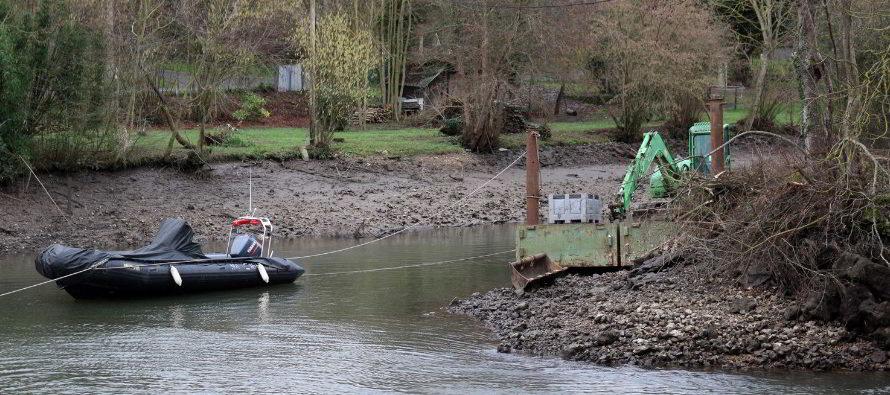 Ouvrages sur le Loir, un entretien semé d'embûches