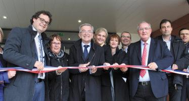 Nouveau bâtiment inauguré au Lycée Agricole