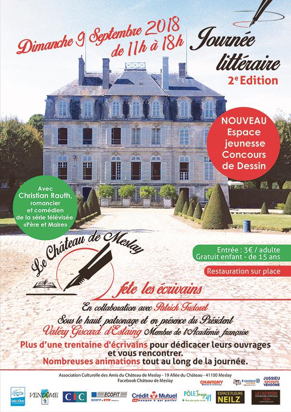 Valéry Giscard d'Estaing ; Association culturelle des Amis du Château de Meslay ; Amis du Château de Meslay