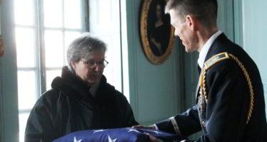 Militaires américains en visite officielle à Rochambeau