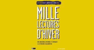 10e édition en région Centre-Val de Loire Mille lectures d'hiver du 1er janvier au 31 mars