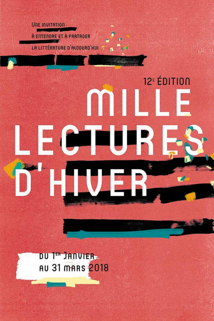 Mille lectures d'hiver ; Centre-Val de Loire ; cécile coulon ; pierre senges