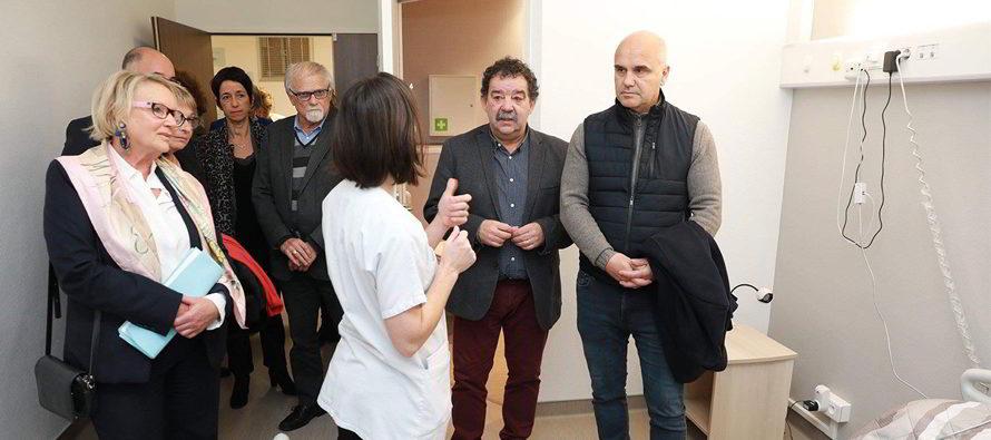 Accueil de l'Unité d'Hébergement Renforcé à Montoire