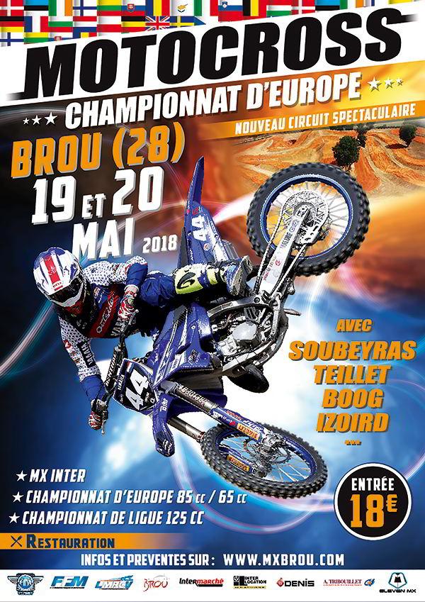 moto-cross ; Brou
