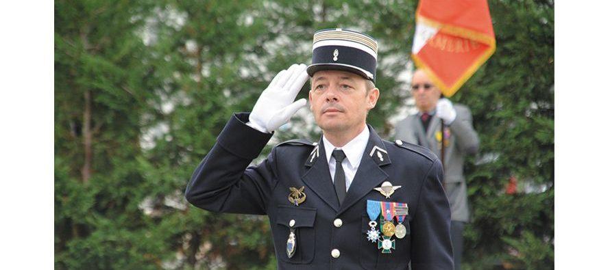 Nouveau commandant de gendarmerie à Blois