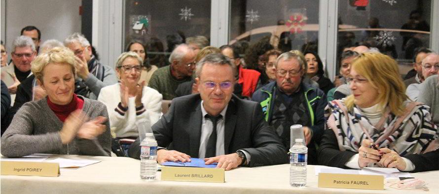 Nouveau maire et président