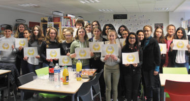 Des élèves récompensés