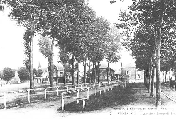 Vendôme ; places