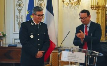 Le commissaire Franck Perrault  part à Saint-Nazaire