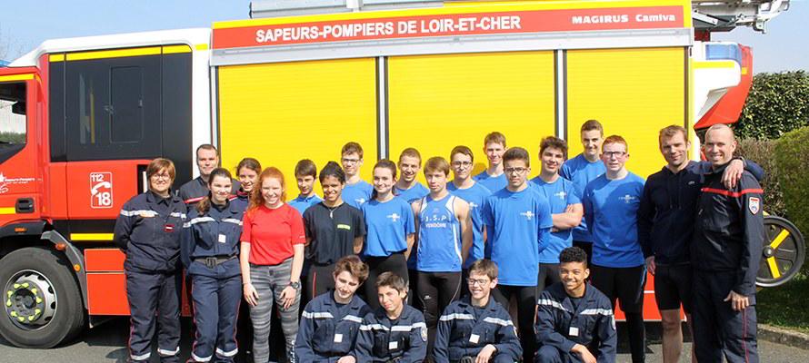 Jeunes Sapeurs Pompiers ; JSP ; Vendôme