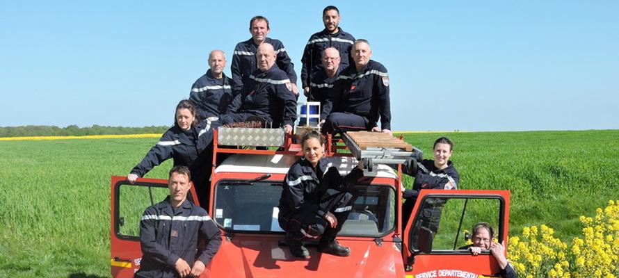 Prunay Cassereau ; Prunay ; pompiers volontaires ; pompiers