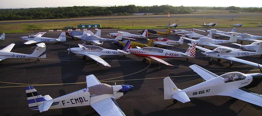 Rassemblement des avions Fournier les 12 et 13 septembre