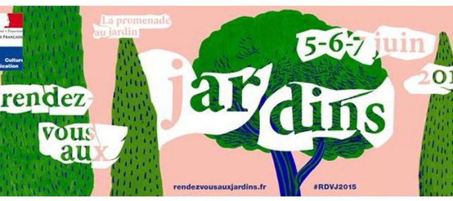 Rendez-vous aux jardins 13e édition – Samedi 6 et dimanche 7 juin