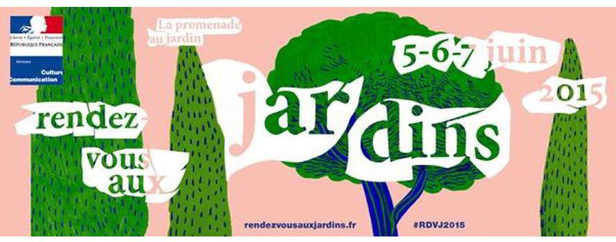 Rendez vous aux jardins 13e dition samedi 6 et dimanche for Rdv aux jardins