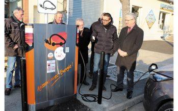 Les véhicules électriques se rechargent désormais à Morée