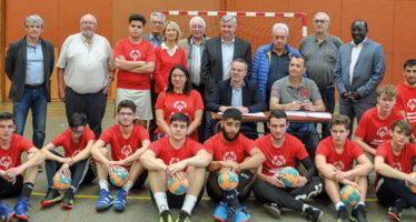 Des handballeurs à Abu Dhabi