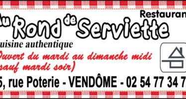 AU ROND DE SERVIETTE à Vendôme