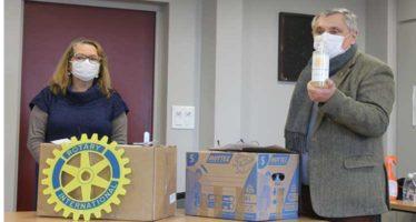 Le savon du Rotary pour les écoles