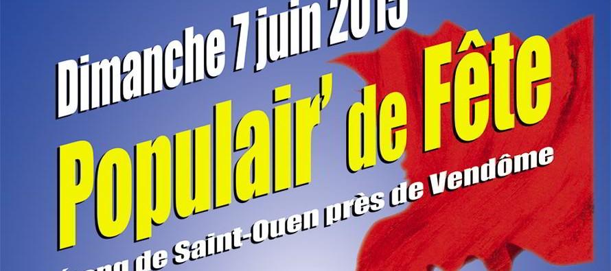 Populair' de Fête – Etang de Saint-Ouen – dimanche 7 juin
