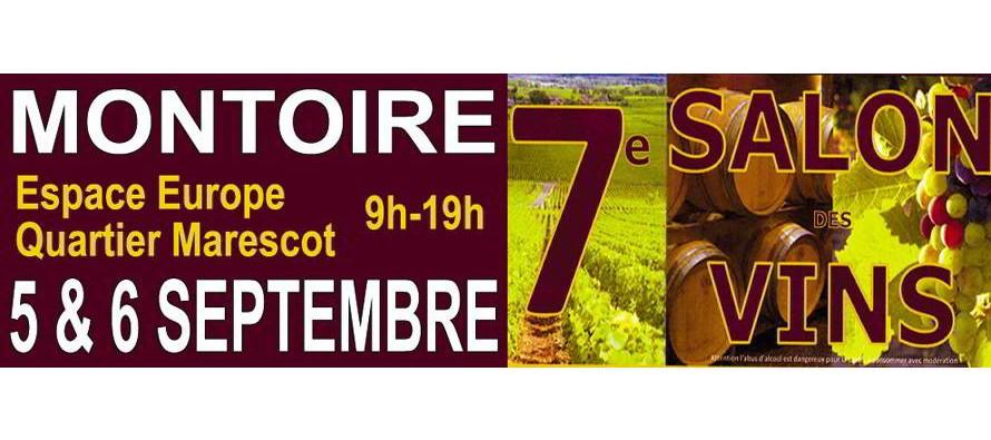 7e Salon des Vins de Montoire – les 5 et 6 septembre