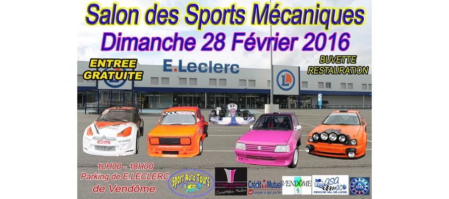 Salon des sports mécaniques Vendôme, dimanche 28 février 2016
