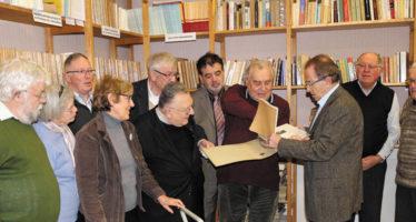 La Société archéologique s'enrichit du don de Claude Leymarios