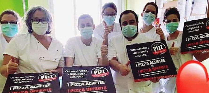 Les pizzas solidaires