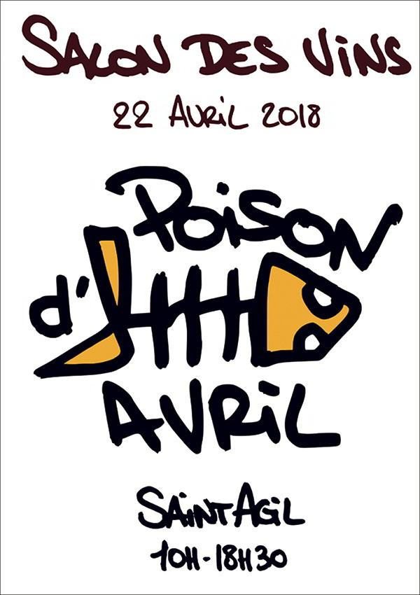 Poison d'avril ; Salon des vins à Saint-Agil