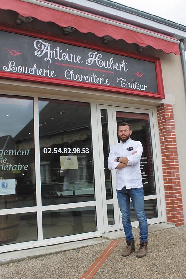 Antoine Hubert ; boucherie-charcuterie ; Saint-Amand-Longpré
