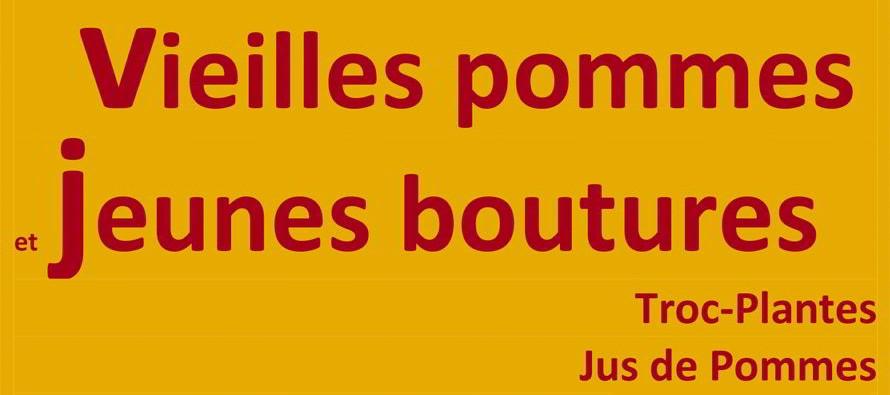 «Vieilles pommes et jeunes boutures» Saint Firmin des Prés – samedi 10 octobre