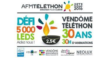 Téléthon 2017, un trentième anniversaire festif qui se prépare à Vendôme.