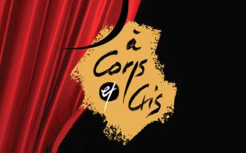 Les «gourmandises» d' À Corps & Cris