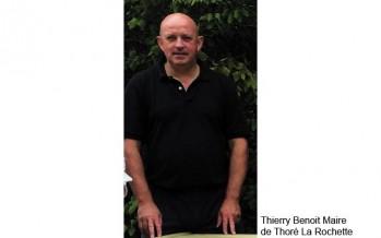 Thierry Benoist, porte drapeau des résistants