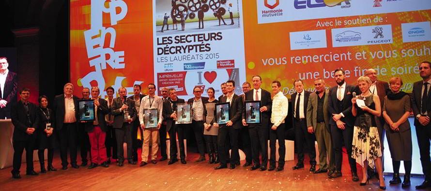 Les Tops de l'entreprise de haut niveau à Blois… Deux sociétés du Vendômois distinguées.