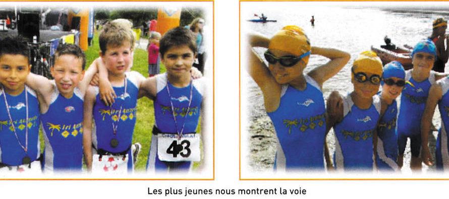 Triathlon : les Audoniens assurent !