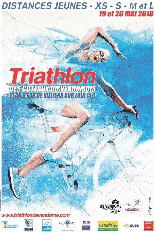 US Vendôme Triathlon ; triathlon ; coteaux du Vendômois