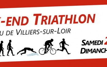 Triathlon des coteaux du Vendômois à Villiers Plage !