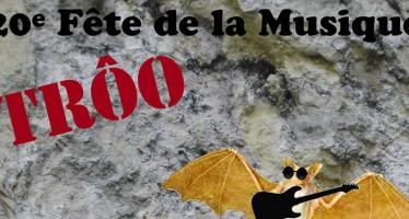 Fête de la musique de Trôo 2015, la 20e.