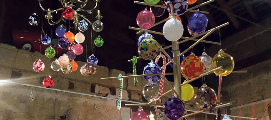 Féerie de Noël à «La Verrerie d'art des Coteaux»