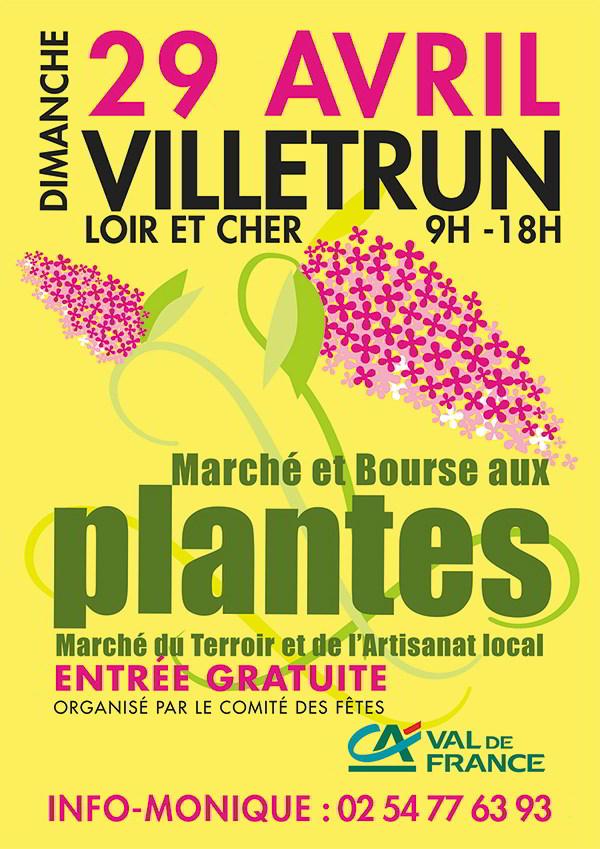 Marché et bourse aux plantes ; Villetrun