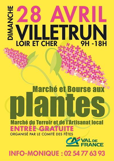 Marché aux plantes ; Villetrun