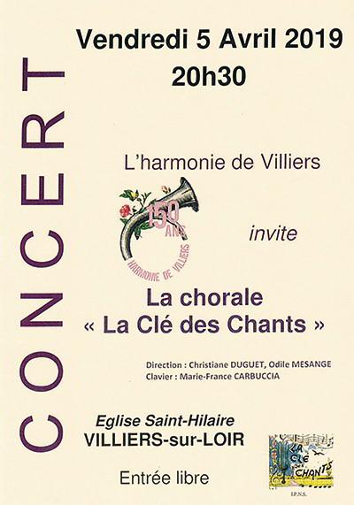 Villiers ; La Clé des Chants