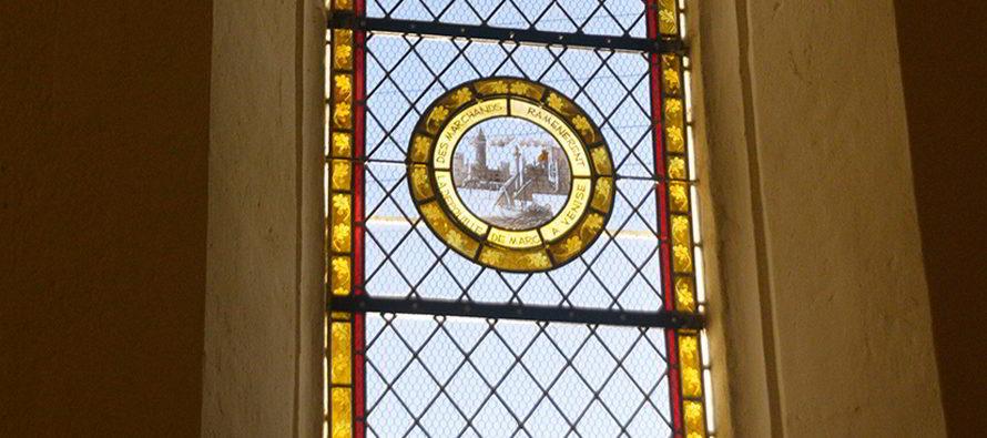 Les vitraux de l'église de Fontaine Raoul ont redonné vie à Saint-Marc
